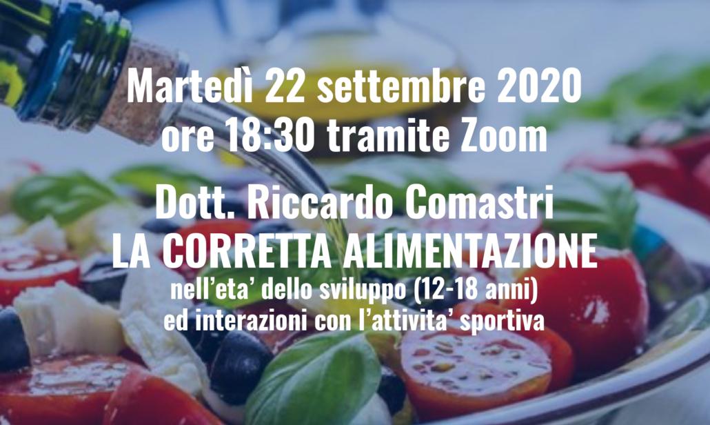 corretta alimentazione 22-09-2020
