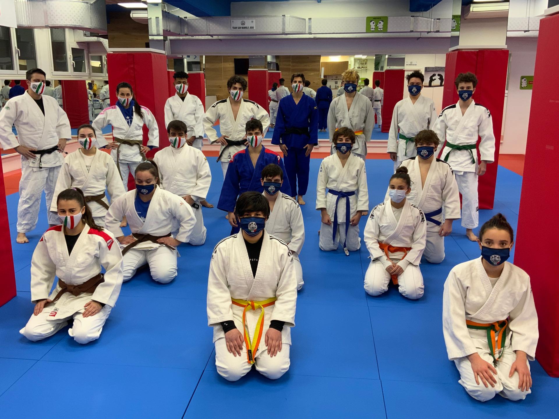 lezione tecnica judo crescere insieme con gianluca