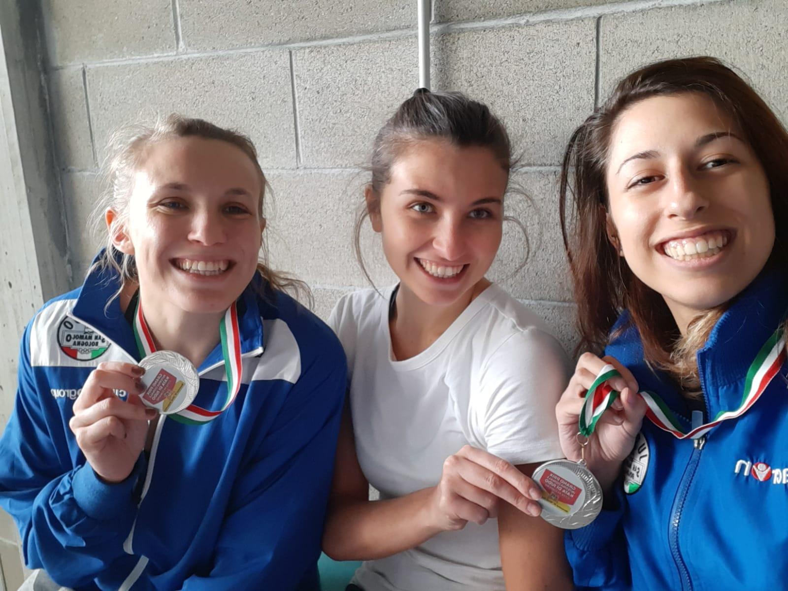 Laura Bugo, Maria Cristina Zuccatti, Barbara Bruni